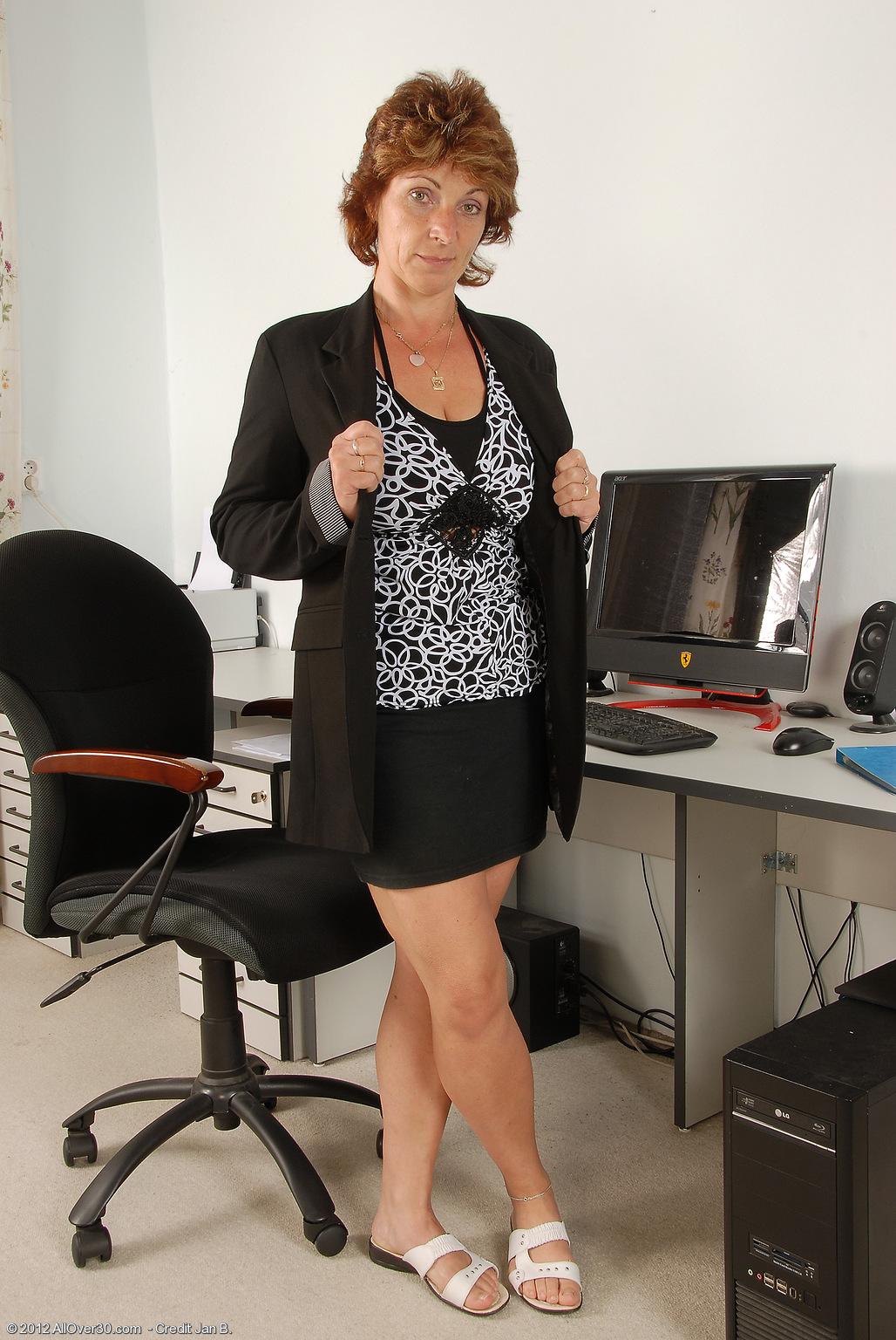 Секретарша в колготках и начальник 5 фотография